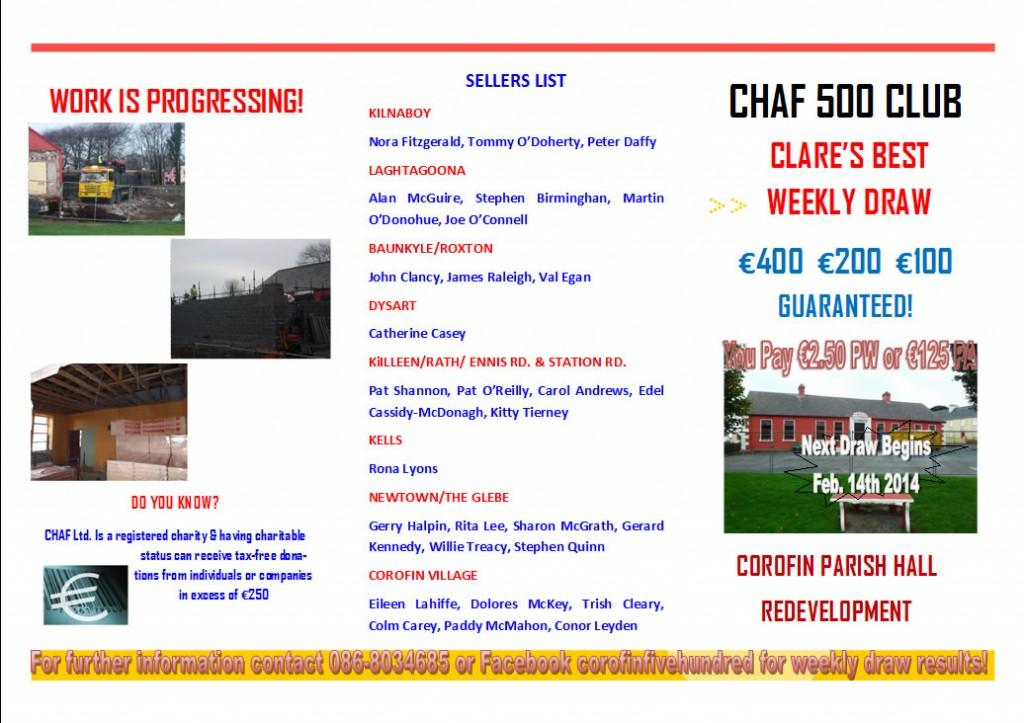 CHAF 500 Club