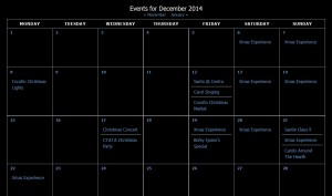 Calendar of Events Corofin